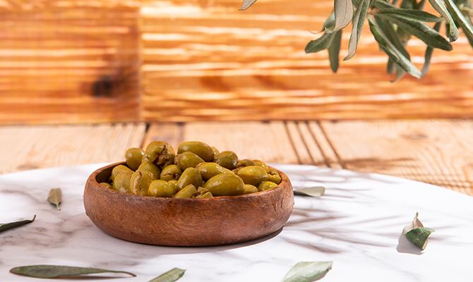 Taş Kırma Yeşil Zeytin | Kocadağ Yöresel Ürünleri